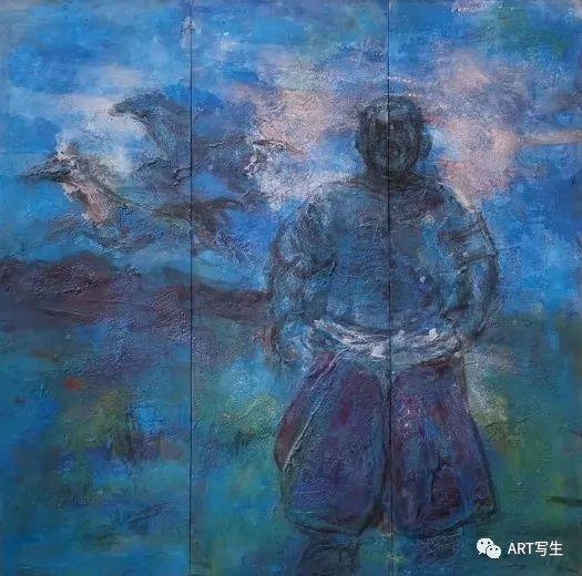 第十三届内蒙古自治区美术作品展览(油画作品) 第153张