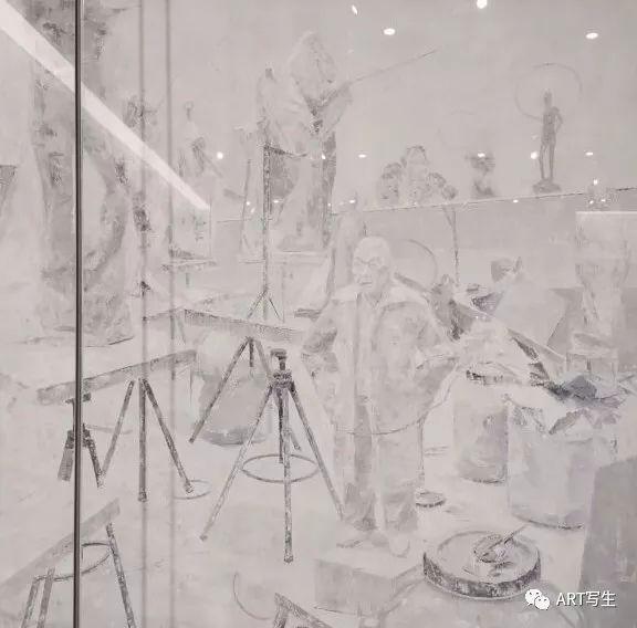 第十三届内蒙古自治区美术作品展览(油画作品) 第157张