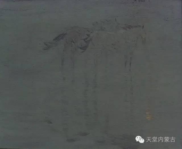 🔴内蒙古油画家--周宇油画作品 第5张