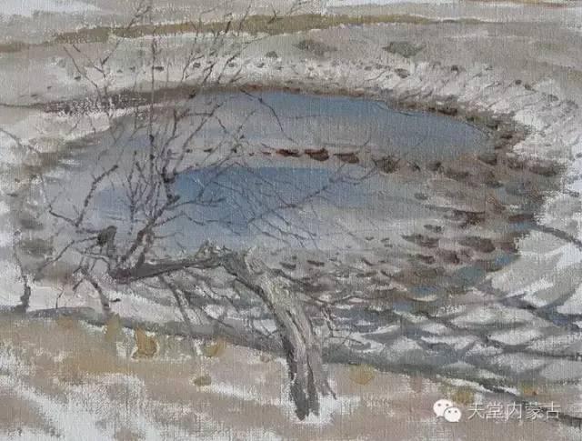 🔴内蒙古油画家--周宇油画作品 第7张