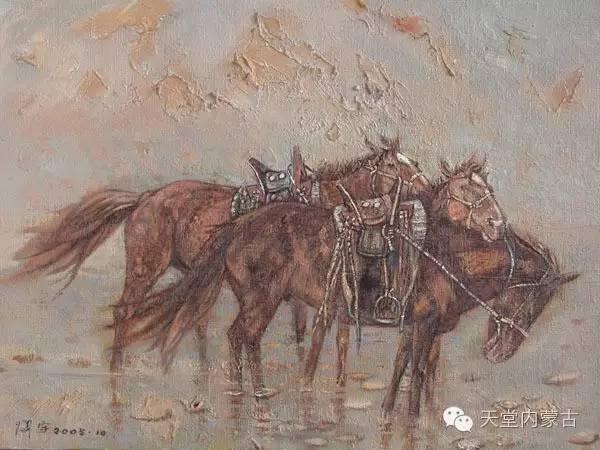 🔴内蒙古油画家--周宇油画作品 第12张