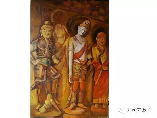 🔴内蒙古画家刘东油画作品 第6张