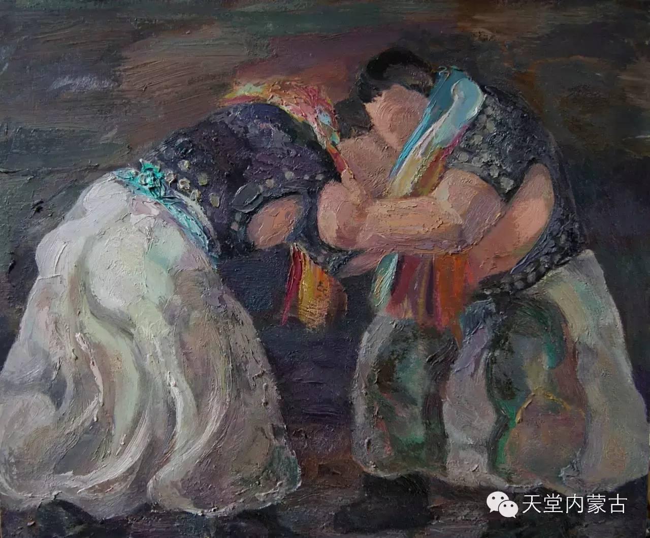 🔴内蒙古画家刘东油画作品 第5张