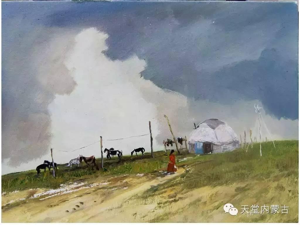 🔴内蒙古画家刘东油画作品 第7张