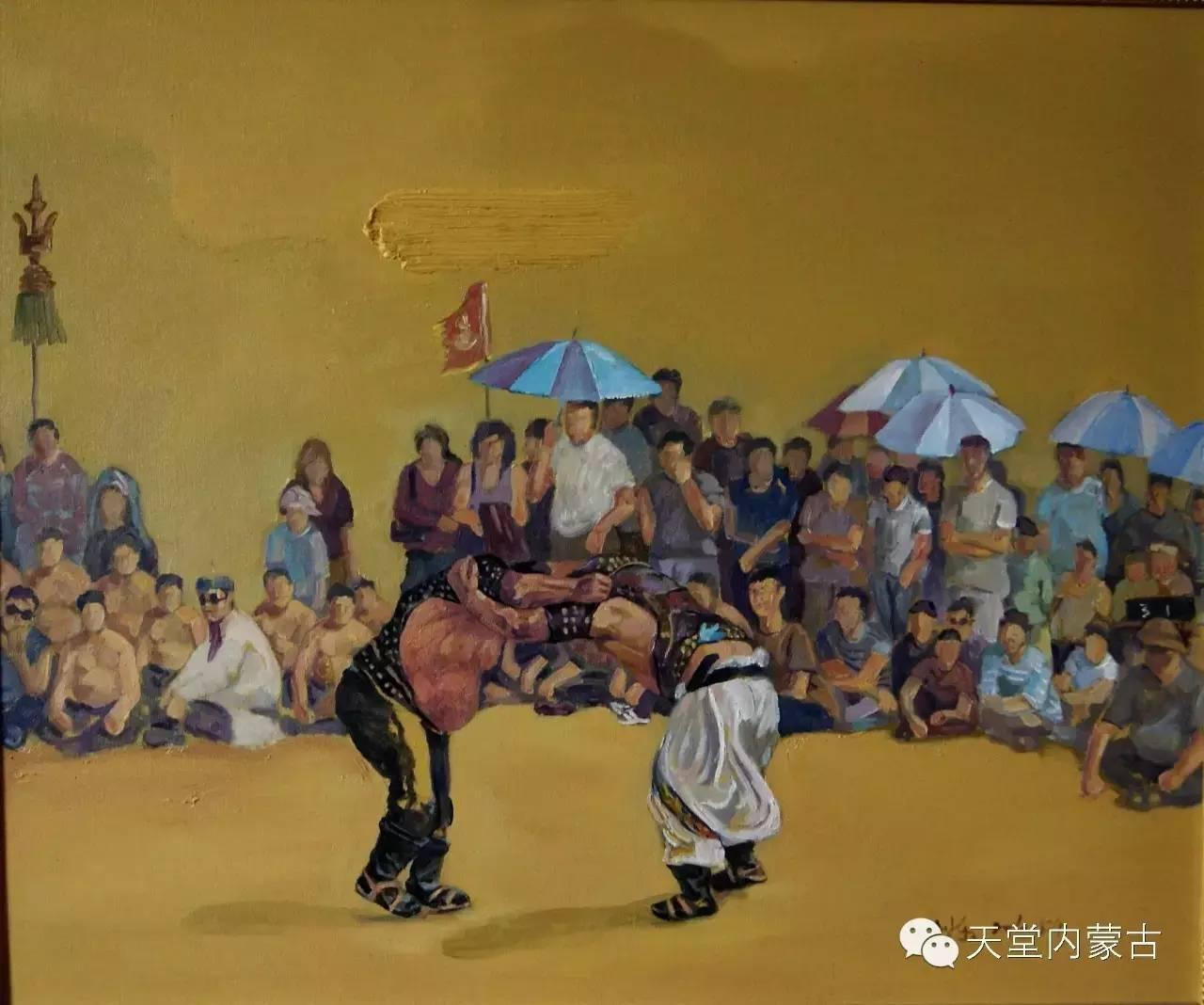 🔴内蒙古画家刘东油画作品 第8张