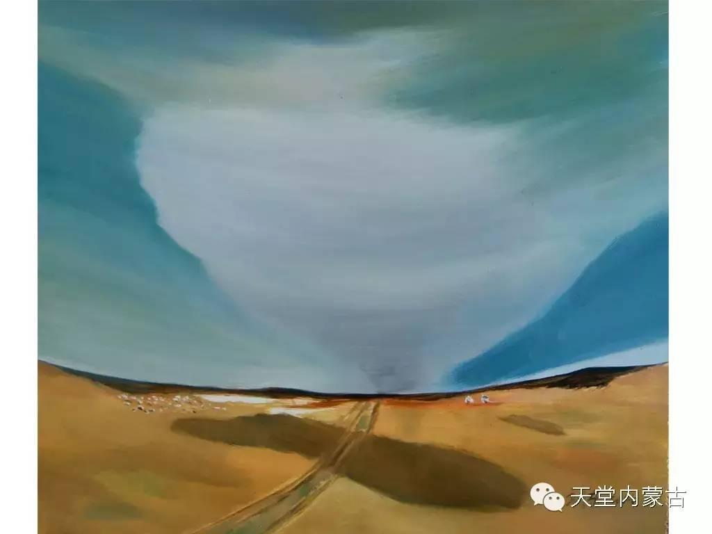 🔴内蒙古画家刘东油画作品 第13张