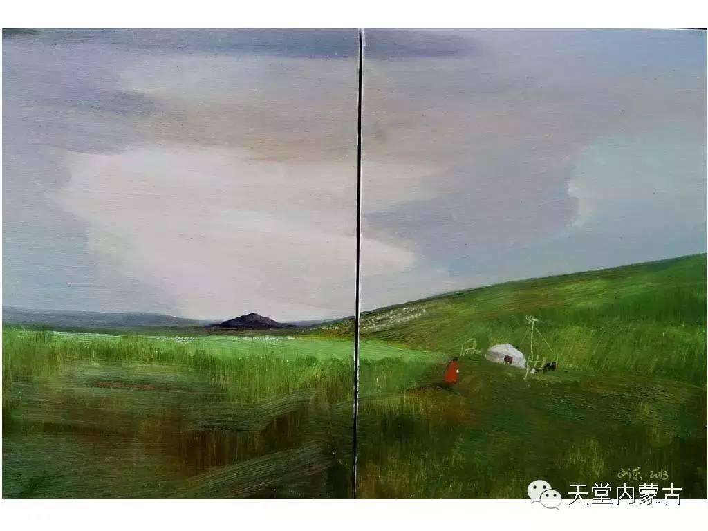 🔴内蒙古画家刘东油画作品 第14张
