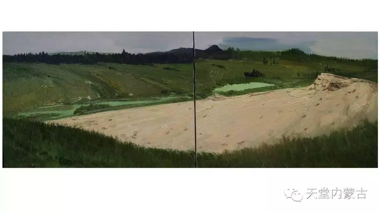 🔴内蒙古画家刘东油画作品 第19张