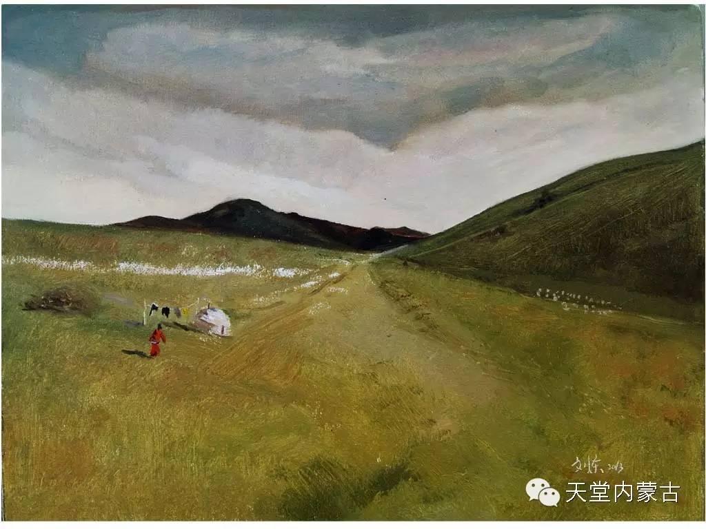 🔴内蒙古画家刘东油画作品 第20张