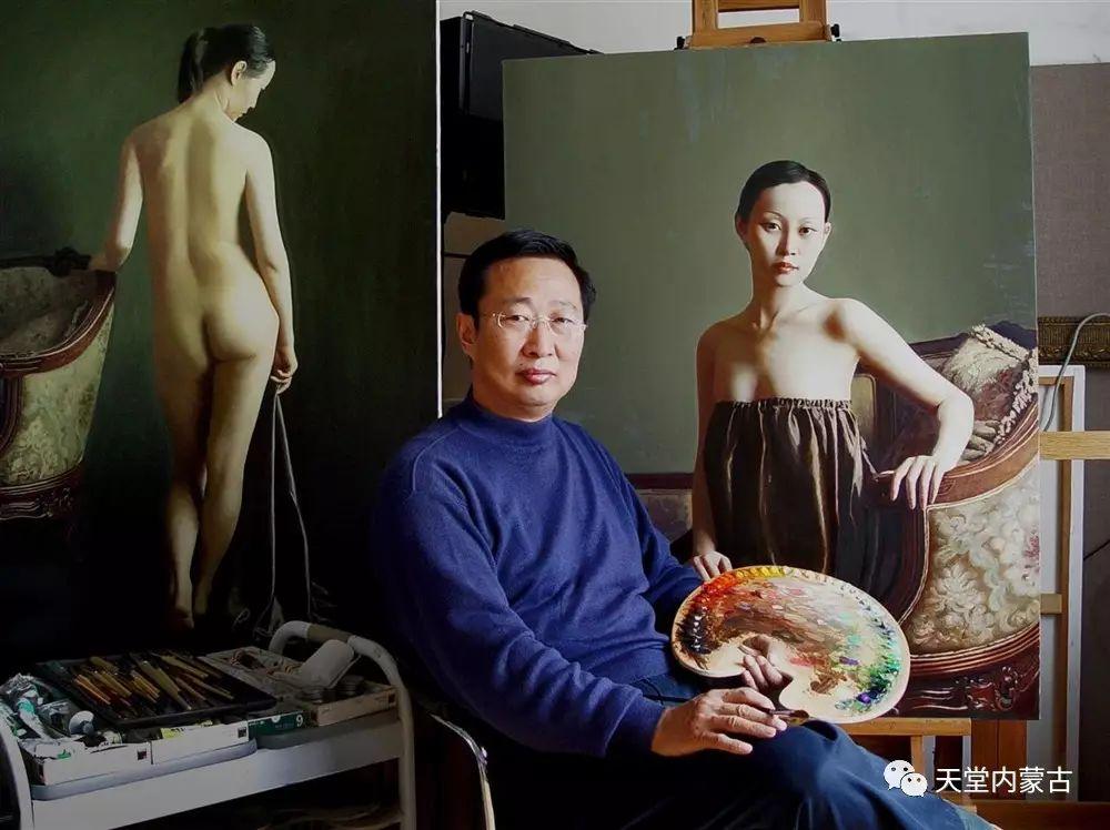 内蒙古画家——晓青油画作品欣赏 第1张