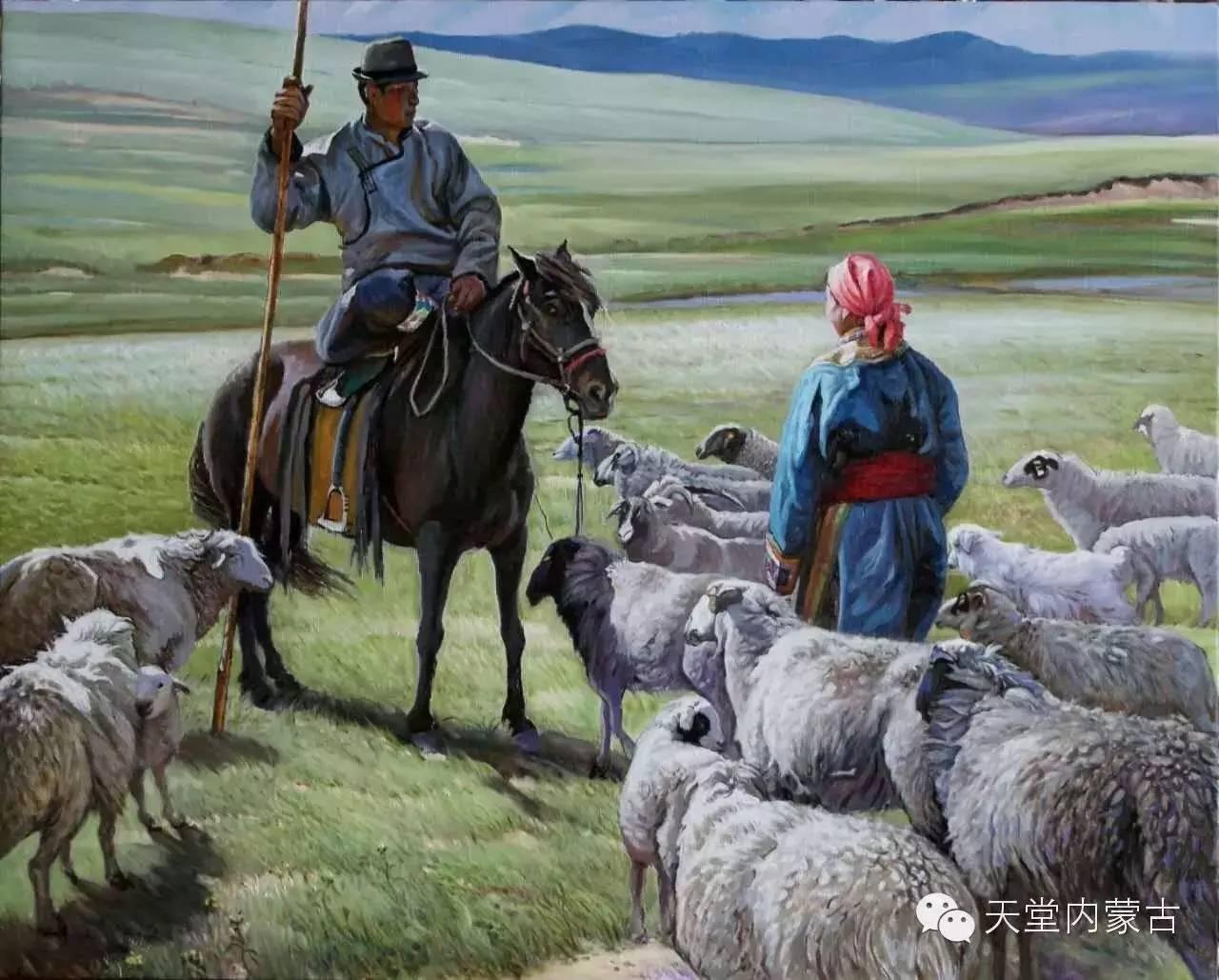 🔴内蒙古油画家胡贵明---油画作品 第9张