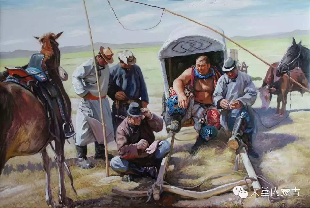 🔴内蒙古油画家胡贵明---油画作品 第15张
