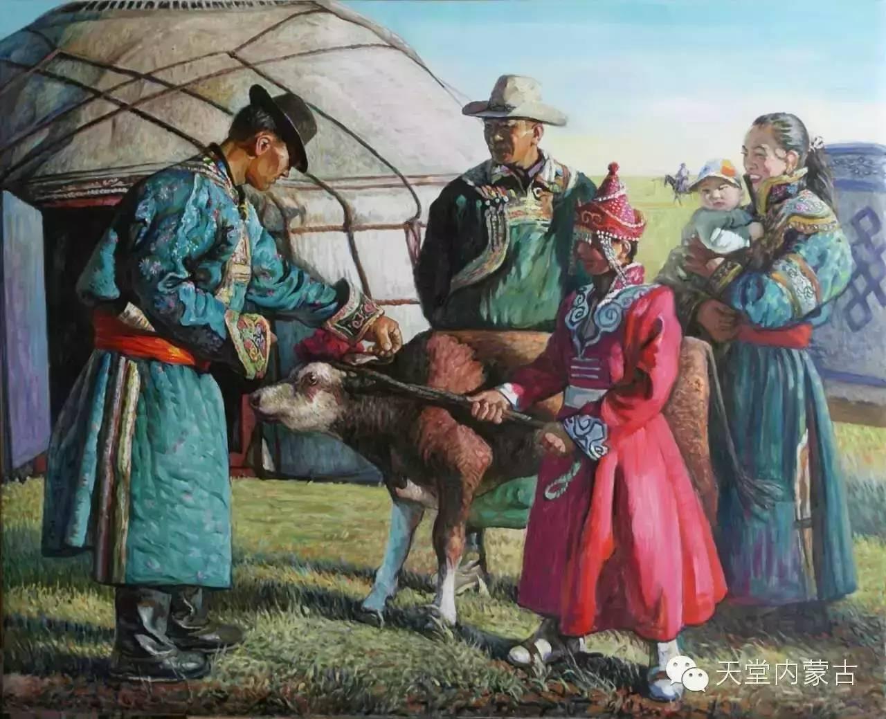 🔴内蒙古油画家胡贵明---油画作品 第19张