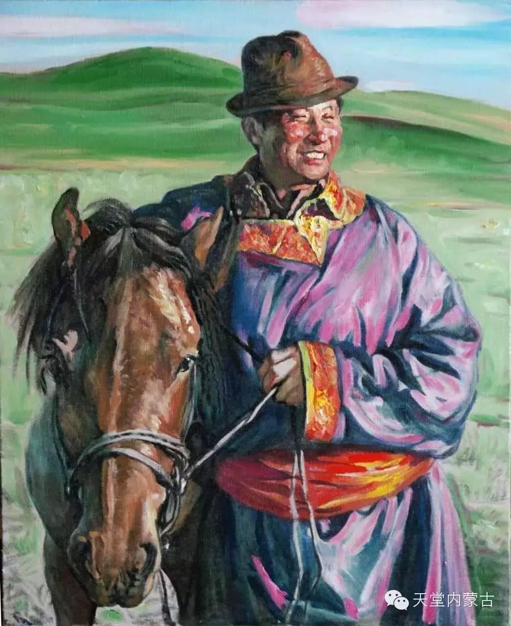 🔴内蒙古油画家胡贵明---油画作品 第23张