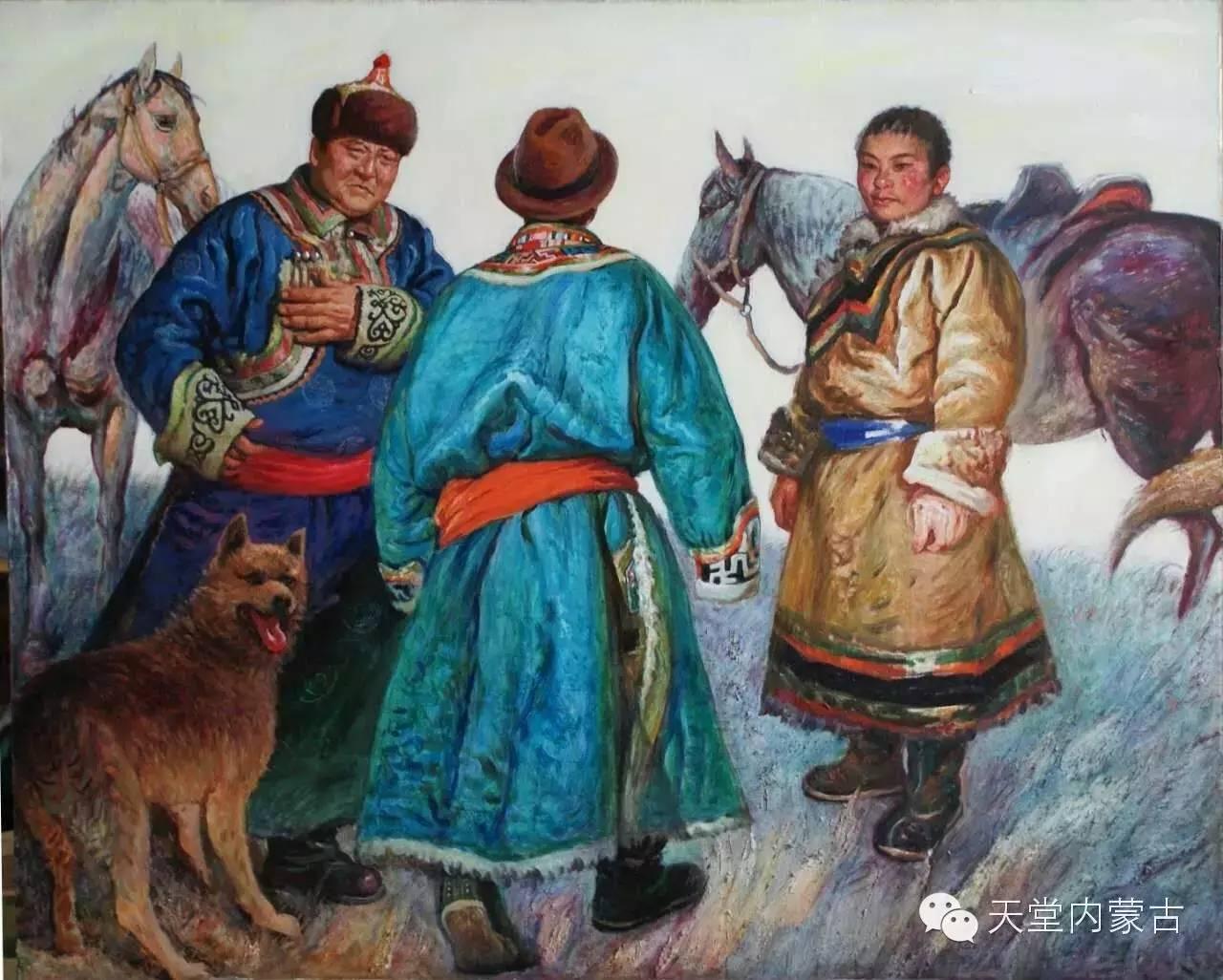 🔴内蒙古油画家胡贵明---油画作品 第27张