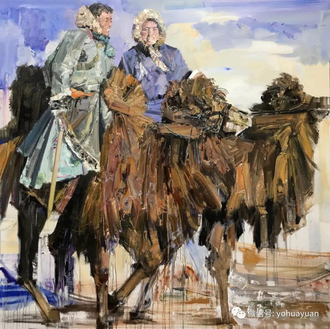 油画作品拍卖(内蒙古草原写生) 第23张 油画作品拍卖(内蒙古草原写生) 蒙古画廊