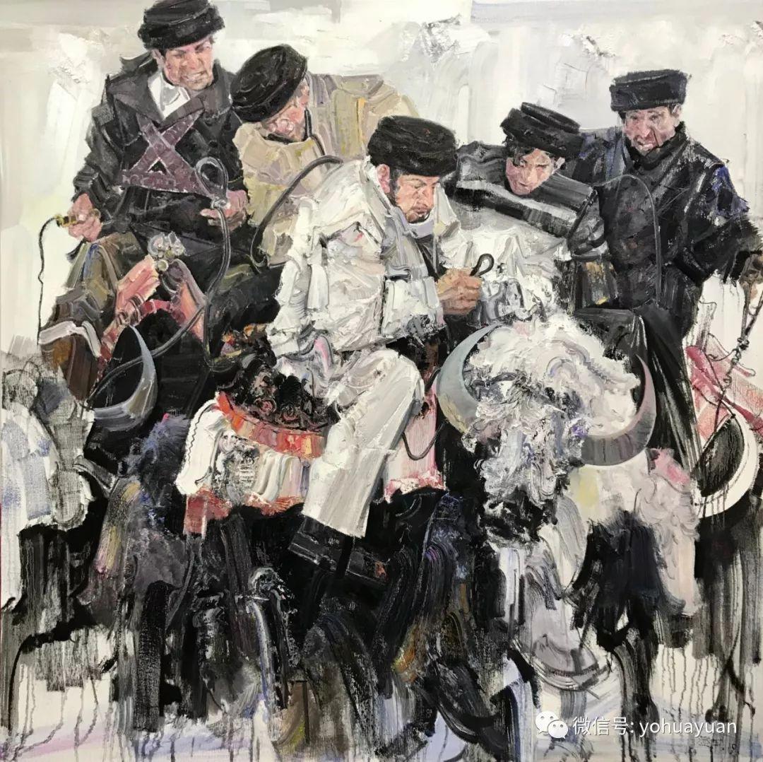 油画作品拍卖(内蒙古草原写生) 第56张 油画作品拍卖(内蒙古草原写生) 蒙古画廊
