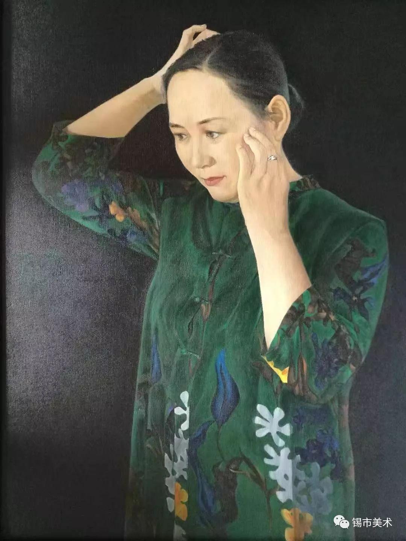 展讯·侯淑琴油画作品微展 第2张