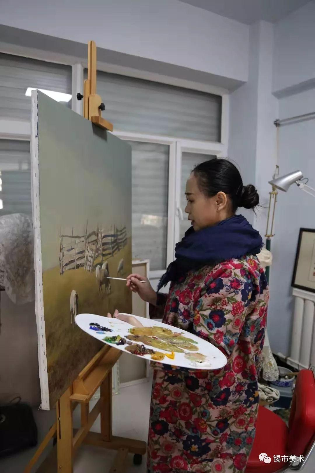 展讯·侯淑琴油画作品微展 第1张