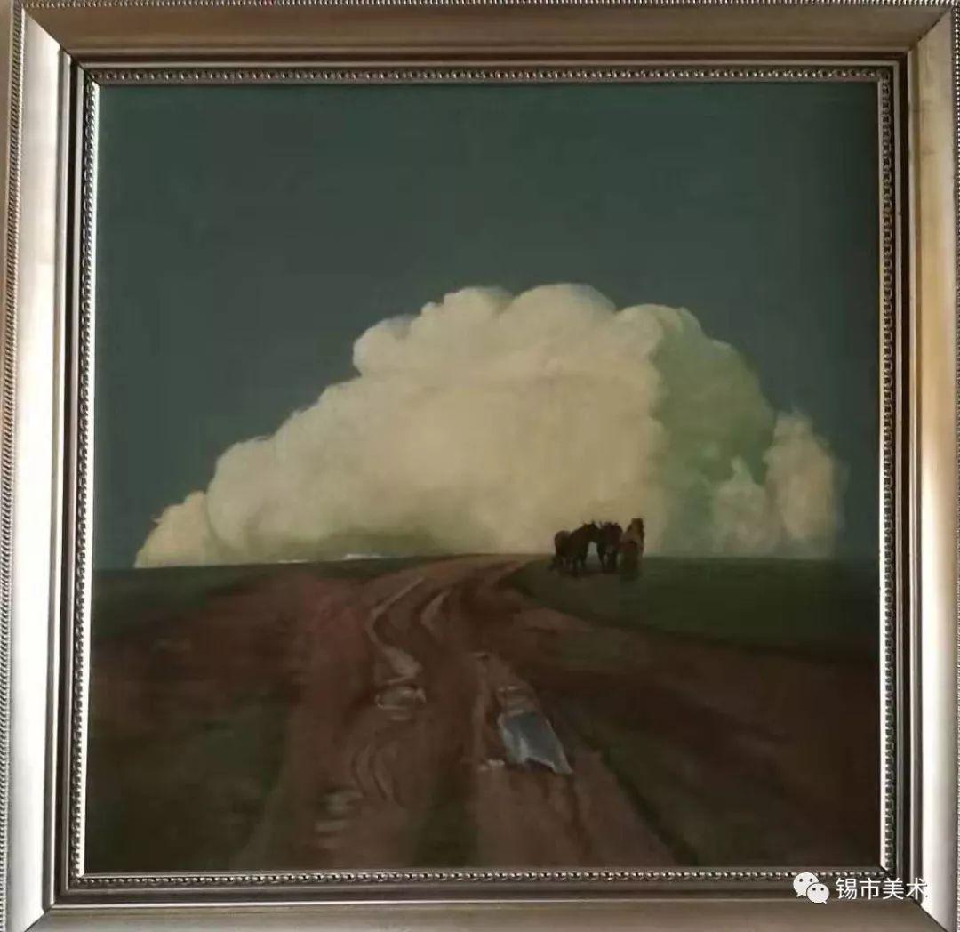 展讯·侯淑琴油画作品微展 第10张