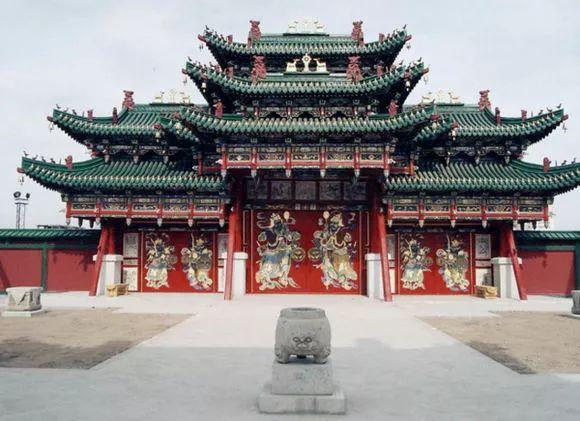 蒙古国博格达汗宫博物馆 第1张 蒙古国博格达汗宫博物馆 蒙古文化
