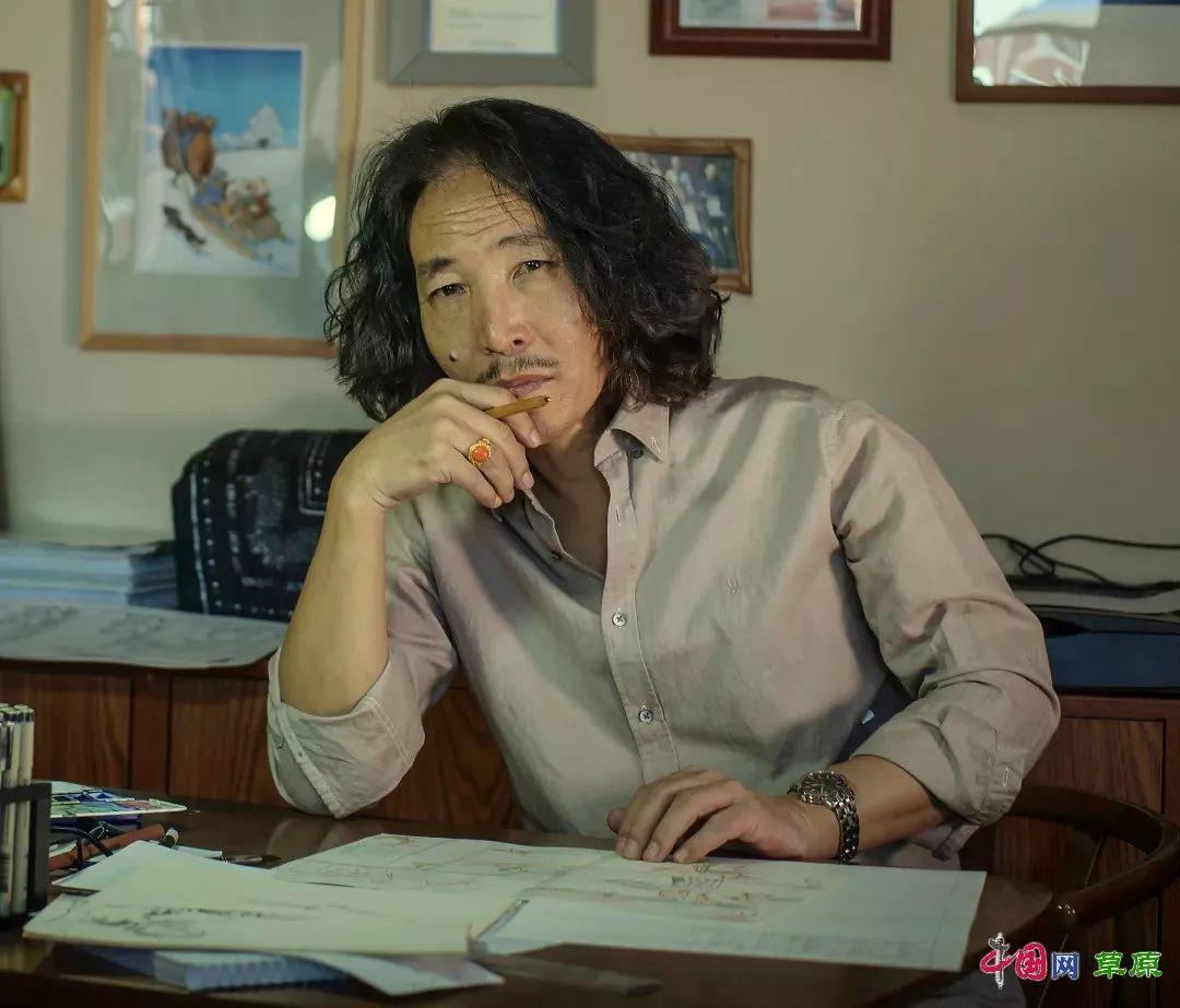 """蒙古族漫画家巴·毕力格用画作战""""疫"""" 呼吁大家配合隔离拒绝野味爱护自然 第4张"""