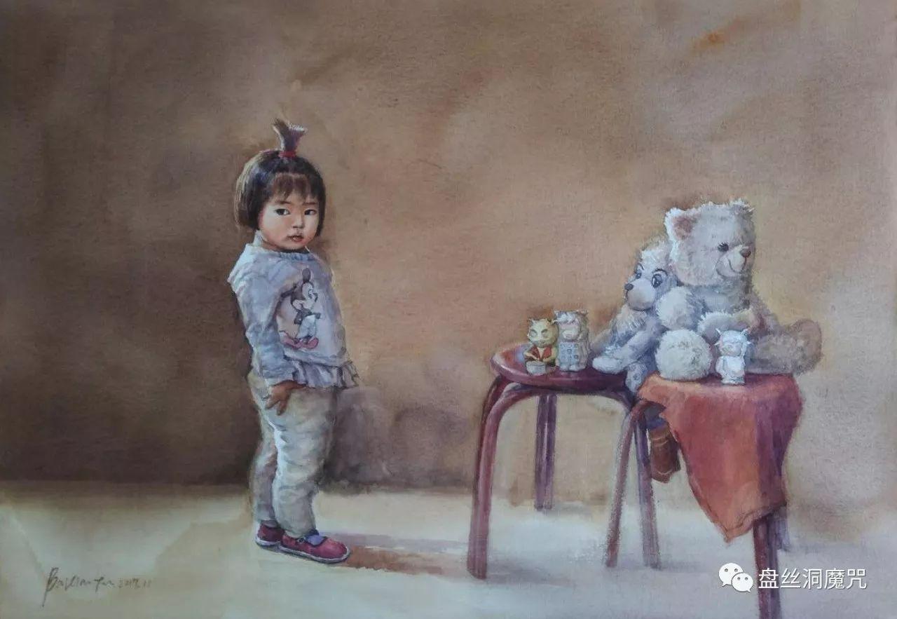 白连福水彩作品欣赏 第9张 白连福水彩作品欣赏 蒙古画廊