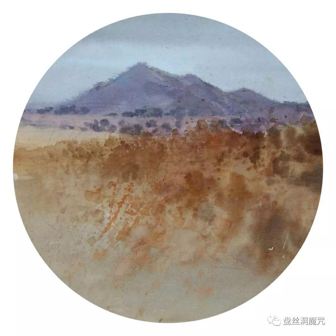 白连福水彩作品欣赏 第25张 白连福水彩作品欣赏 蒙古画廊