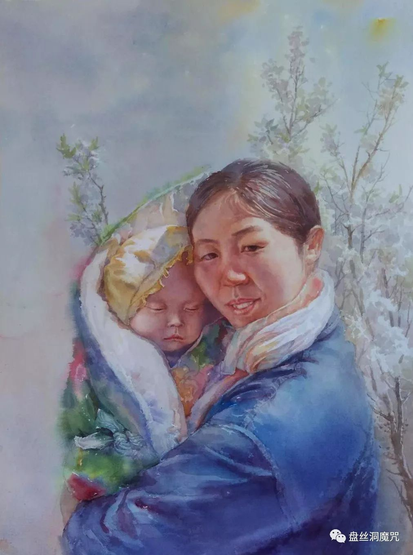白连福水彩作品欣赏 第34张 白连福水彩作品欣赏 蒙古画廊