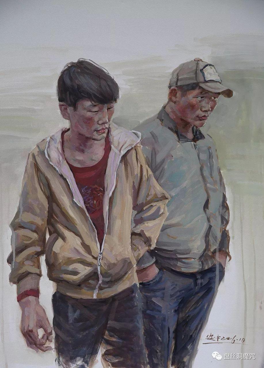 关安平水彩作品欣赏 第6张 关安平水彩作品欣赏 蒙古画廊
