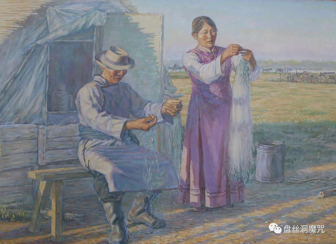 关安平水彩作品欣赏 第9张 关安平水彩作品欣赏 蒙古画廊