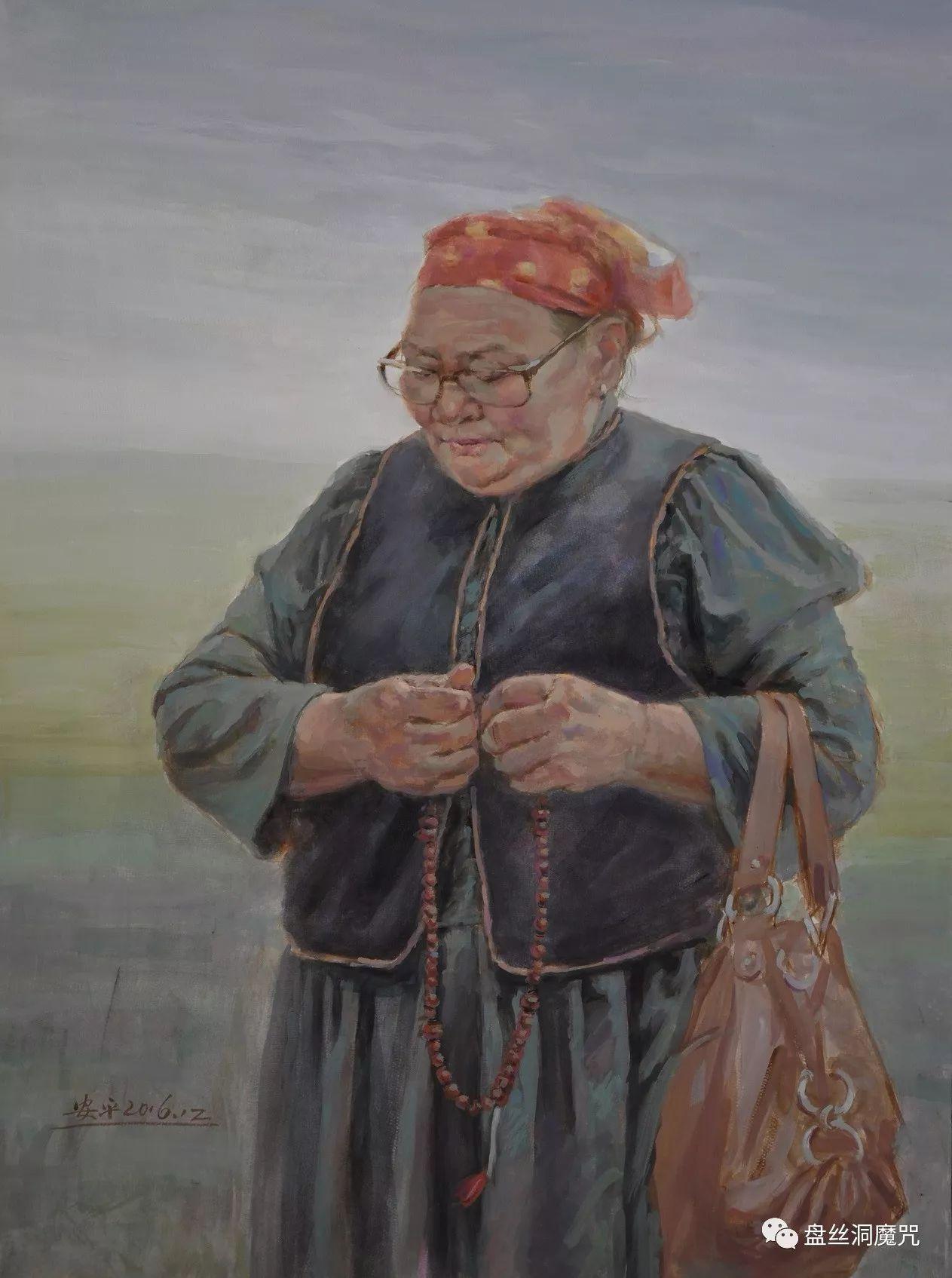 关安平水彩作品欣赏 第10张 关安平水彩作品欣赏 蒙古画廊