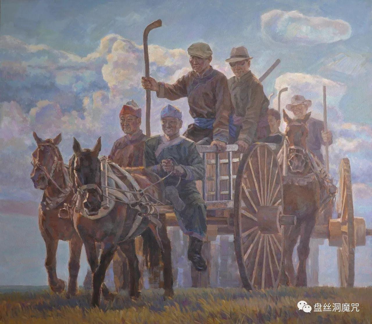 关安平水彩作品欣赏 第12张 关安平水彩作品欣赏 蒙古画廊