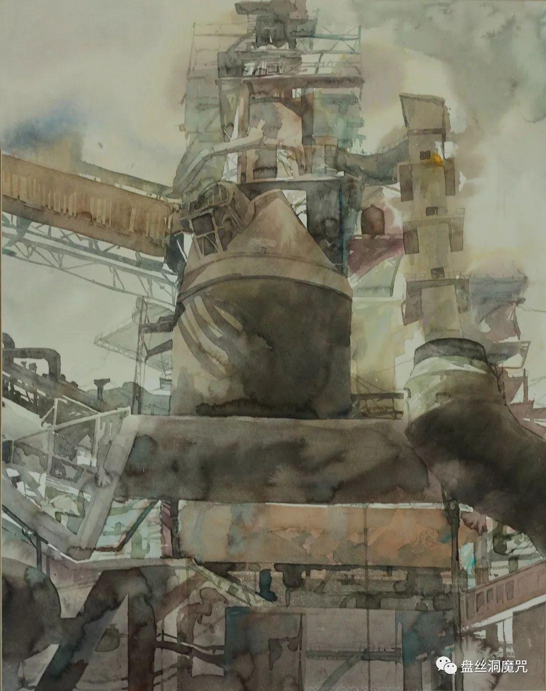 苏雅拉图水彩作品欣赏 第6张