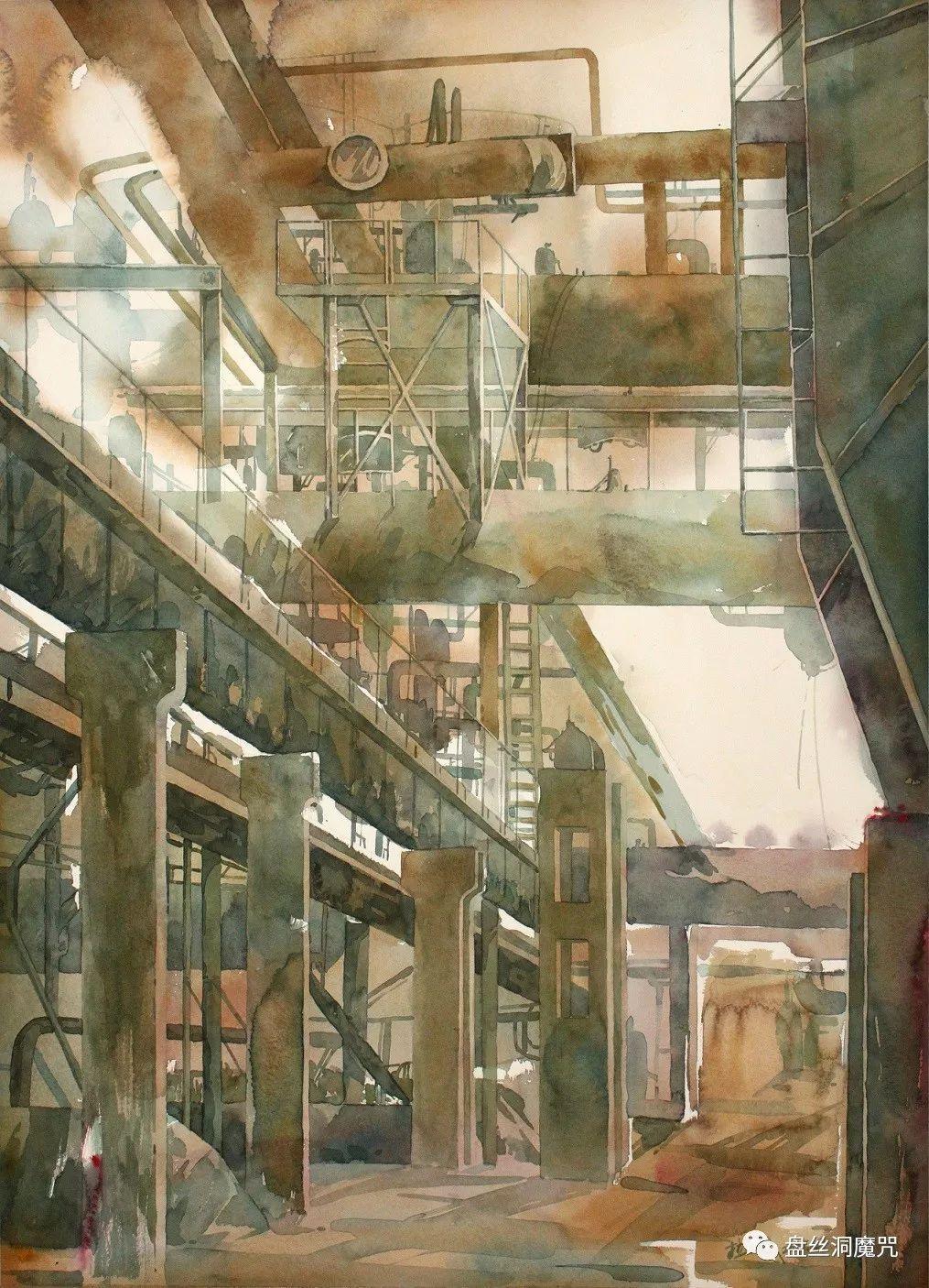 苏雅拉图水彩作品欣赏 第12张
