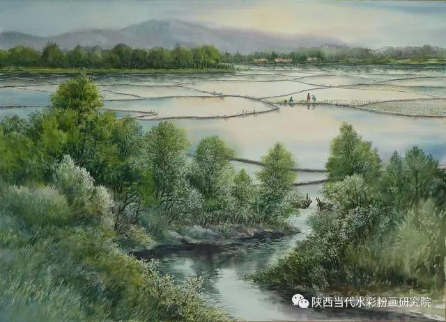 马志有水彩作品欣赏 第23张