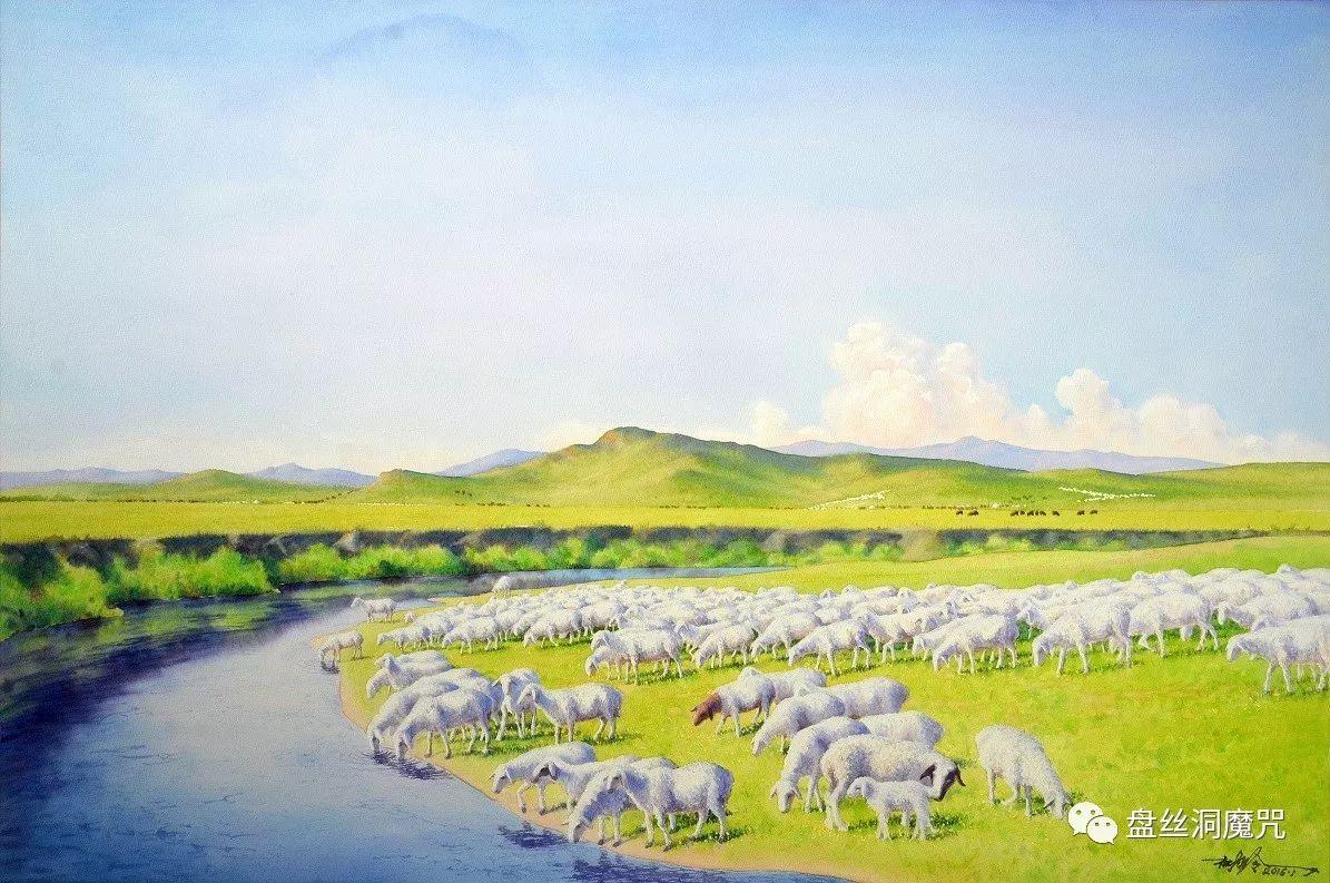 林树岭水彩作品欣赏 第11张 林树岭水彩作品欣赏 蒙古画廊