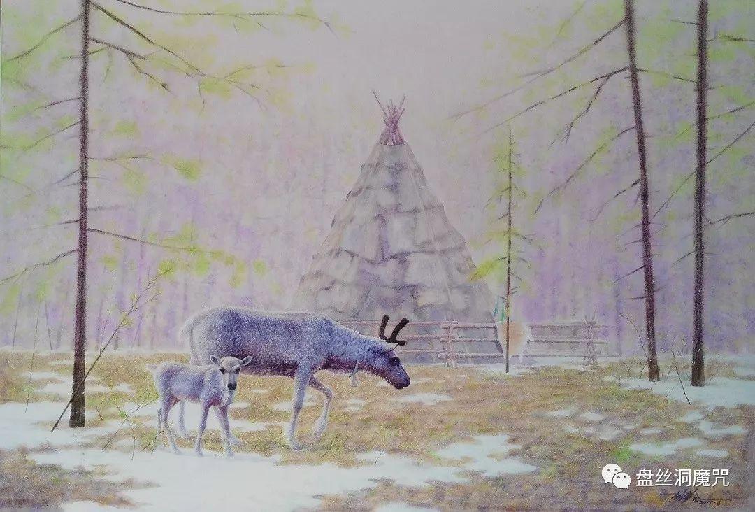 林树岭水彩作品欣赏 第14张 林树岭水彩作品欣赏 蒙古画廊