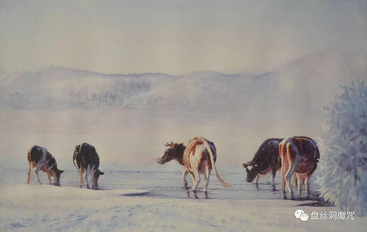 林树岭水彩作品欣赏 第17张 林树岭水彩作品欣赏 蒙古画廊