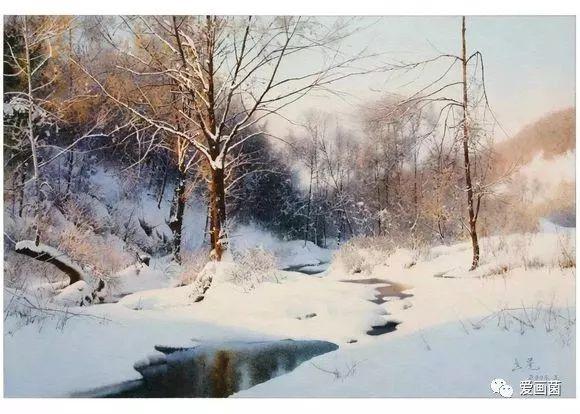 陶世虎水彩:雄浑凝重,极为精微的写实画风。每一笔都给人以博大而精细、俊逸而清新、宁静而致远的艺术享受。 第8张