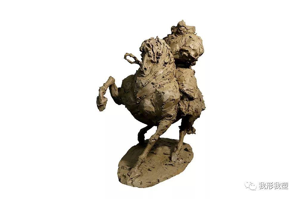 """【雕塑展览】庆祝中华人民共和国成立70周年""""蒙古马·雕塑·研究""""展 第16张 【雕塑展览】庆祝中华人民共和国成立70周年""""蒙古马·雕塑·研究""""展 蒙古画廊"""