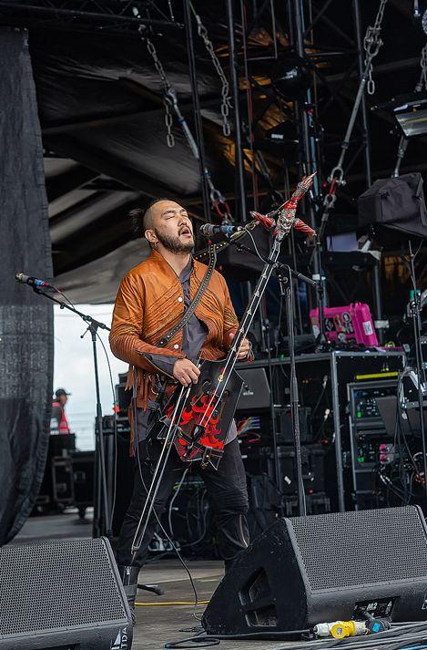 蒙古音乐登上世界顶级摇滚音乐节!THE HU乐队2019Rock Am Ring音乐节现场视频 第7张