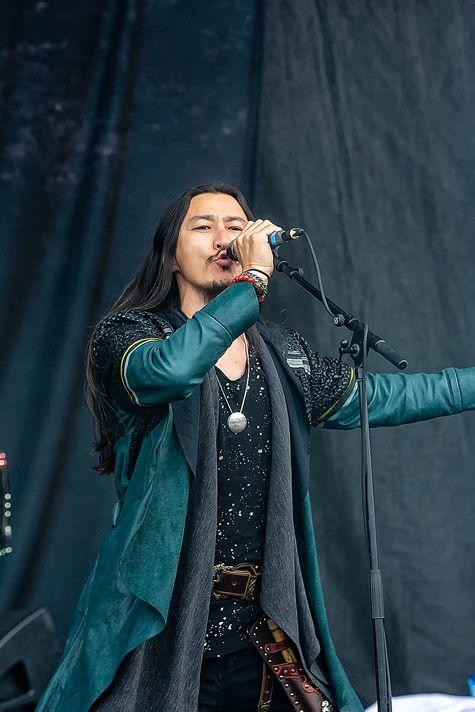 蒙古音乐登上世界顶级摇滚音乐节!THE HU乐队2019Rock Am Ring音乐节现场视频 第8张