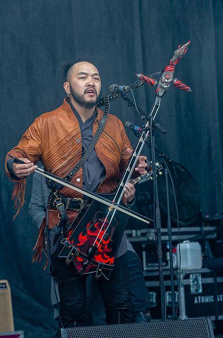 蒙古音乐登上世界顶级摇滚音乐节!THE HU乐队2019Rock Am Ring音乐节现场视频 第16张