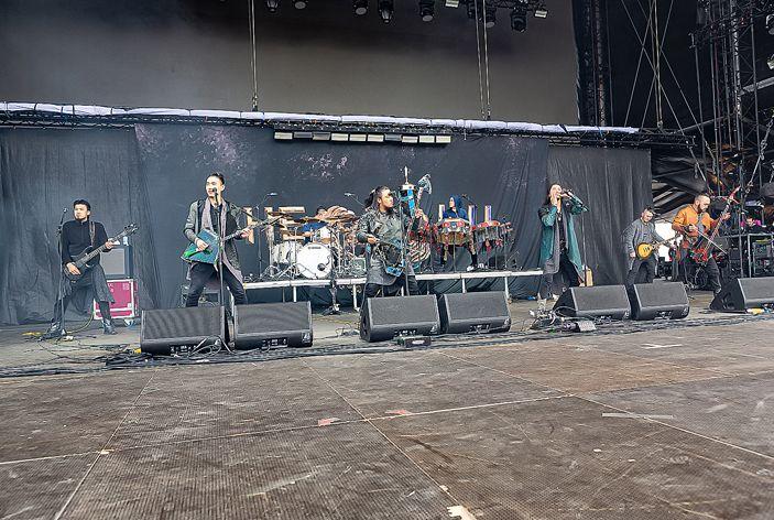 蒙古音乐登上世界顶级摇滚音乐节!THE HU乐队2019Rock Am Ring音乐节现场视频 第15张