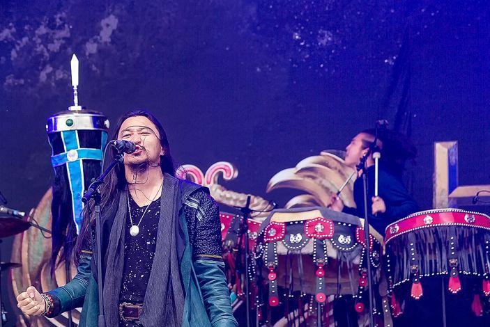 蒙古音乐登上世界顶级摇滚音乐节!THE HU乐队2019Rock Am Ring音乐节现场视频 第20张