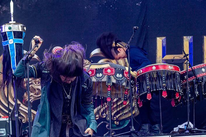 蒙古音乐登上世界顶级摇滚音乐节!THE HU乐队2019Rock Am Ring音乐节现场视频 第18张