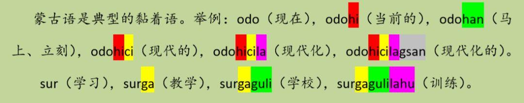 蒙古语和中国蒙古族语言生活现状,了解一下 第5张