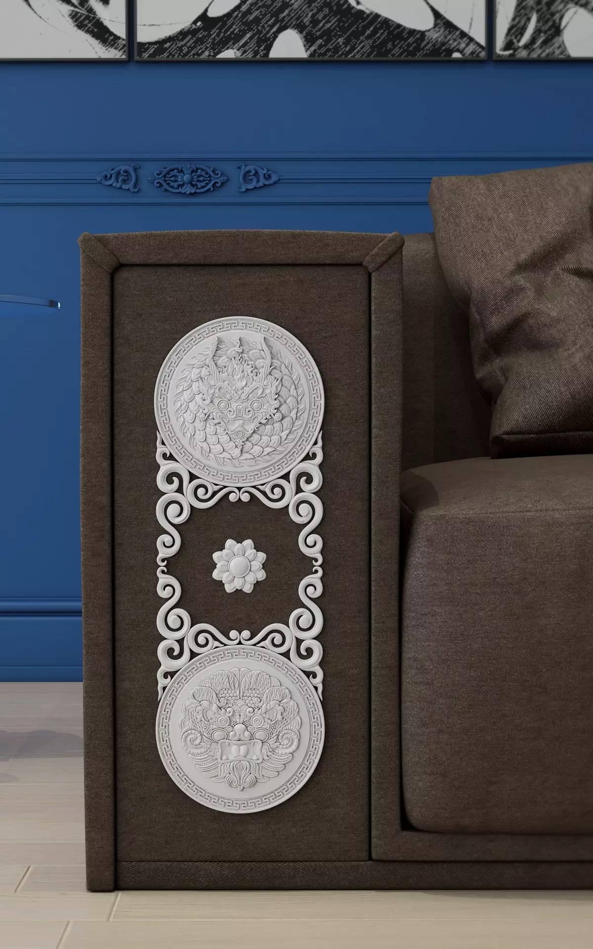 室内设计|蒙族传统装饰(Mongolian Traditional Ornament) 第20张