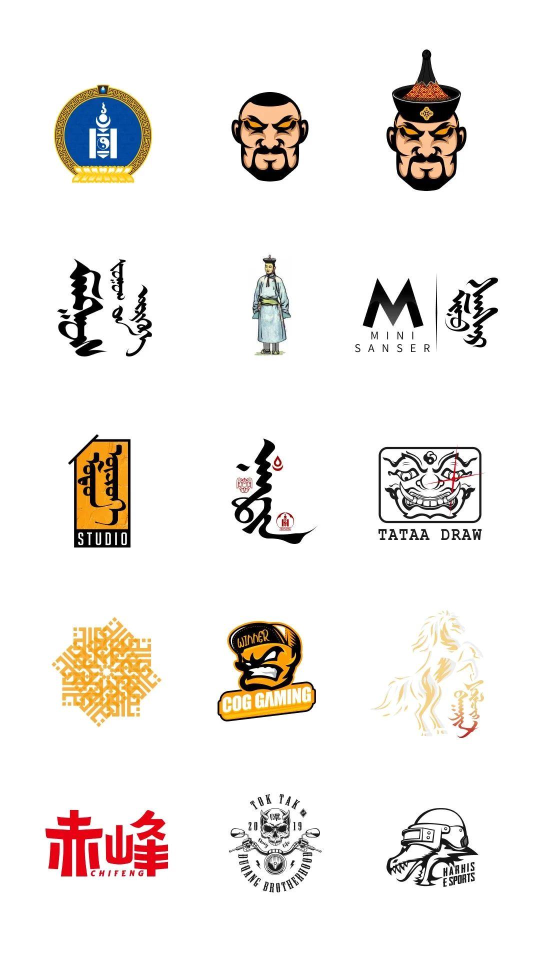 超赞的蒙元素设计-看完马上收藏 #Hotoch-Design#设计案例 第4张